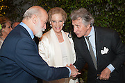 PRINCE MICHAEL OF KENT; PRINCESS MICHAEL OF KENT; ARNAUD BAMBERGER, The Cartier Chelsea Flower show dinner. Hurlingham club, London. 20 May 2013.