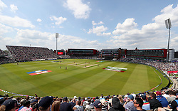 General view of Old Trafford during the ICC Cricket World Cup group stage match between West Indies and New Zealand at Old Trafford, Manchester.