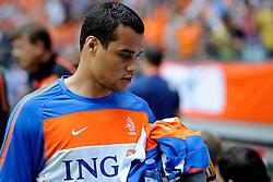 05-06-2010 VOETBAL: NEDERLAND - HONGARIJE: AMSTERDAM<br /> Nederland wint met 6-1 van Hongarije / Michel Vorm<br /> ©2010-WWW.FOTOHOOGENDOORN.NL