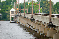 Chester River drawbridge, Chesapeake Bay, Chester, Maryland, United States of America, North America.