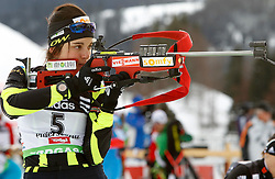 16.12.2011, Biathlonzentrum, Hochfilzen, AUT, E.ON IBU Weltcup, 3. Biathlon, Hochfilzen, Sprint Frauen, im Bild Sophie Boilley (FRA) // during Sprint women E.ON IBU World Cup 3th Biathlon, Hochfilzen, Austria on 2011/12/16. EXPA Pictures © 2011, PhotoCredit: EXPA/ Oskar Hoeher