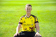 Nat West T20 Blask kit portrait of Max Waller during the Somerset County Cricket Club PhotoCall 2017 at the Cooper Associates County Ground, Taunton, United Kingdom on 5 April 2017. Photo by Graham Hunt.