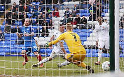Jack Marriott of Peterborough United scores his first goal of the game to make it 3-1 - Mandatory by-line: Joe Dent/JMP - 10/03/2018 - FOOTBALL - ABAX Stadium - Peterborough, England - Peterborough United v Charlton Athletic - Sky Bet League One