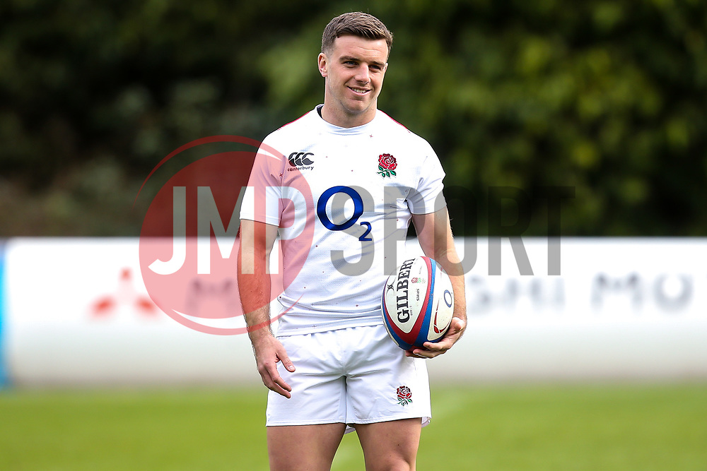 George Ford of England - Mandatory by-line: Robbie Stephenson/JMP - 08/03/2019 - RUGBY - England - Training session ahead of Guinness Six Nations match against Italy
