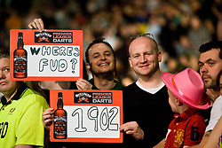 Fans..2010 Whyte & MacKay Premier League Darts week nine, Glasgow SECC..©2010 Michael Schofield. All Rights Reserved.