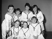 """Pioneer Musical and Dramatic Society..1983.02.11.1983.11.02.1983.2nd November 1983...Photograph of the dress rehearsal of the musical """"The Sound Of Music"""".The show was presented at the S.F.X.Hall in Dublin..Unfortunately we do not have the name captions ,if you know any of the people shown why not e-mail us at info@lensmen.ie"""