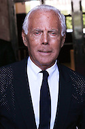 PARIS, FRANCE - JULY 05:  Giorgio Armani attends the Giorgio Armani Prive Haute Couture Fall/Winter 2011/2012 show as part of Paris Fashion Week at Palais de Chaillot on July 5, 2011 in Paris, France.  (Photo by Tony Barson/WireImage)
