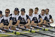 Munich, GERMANY, 2006, FISA, Rowing, World Cup, GBR M8+ Bow Tom Stallard, Toby Garrbett, Tom Solesbury, Jonno Devlin, Hugo Lee, Josh West, Kieran West, Matt Langridge and cox Acer Nethercott. held on the Olympic Regatta Course, Munich, Thurs. 25.05.2006. © Peter Spurrier/Intersport-images.com,  / Mobile +44 [0] 7973 819 551 / email images@intersport-images.com..[Mandatory Credit, Peter Spurier/ Intersport Images] Rowing Course, Olympic Regatta Rowing Course, Munich, GERMANY