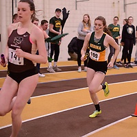 in action during the 2018 Canada West Track & Field Championship on February  23 at James Daly Fieldhouse. Credit: Arthur Ward/Arthur Images