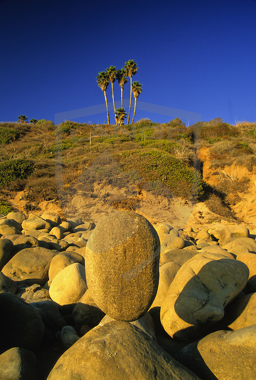 beach side beautiful nature scenery can be found at el matador beach in malibu, southern california.
