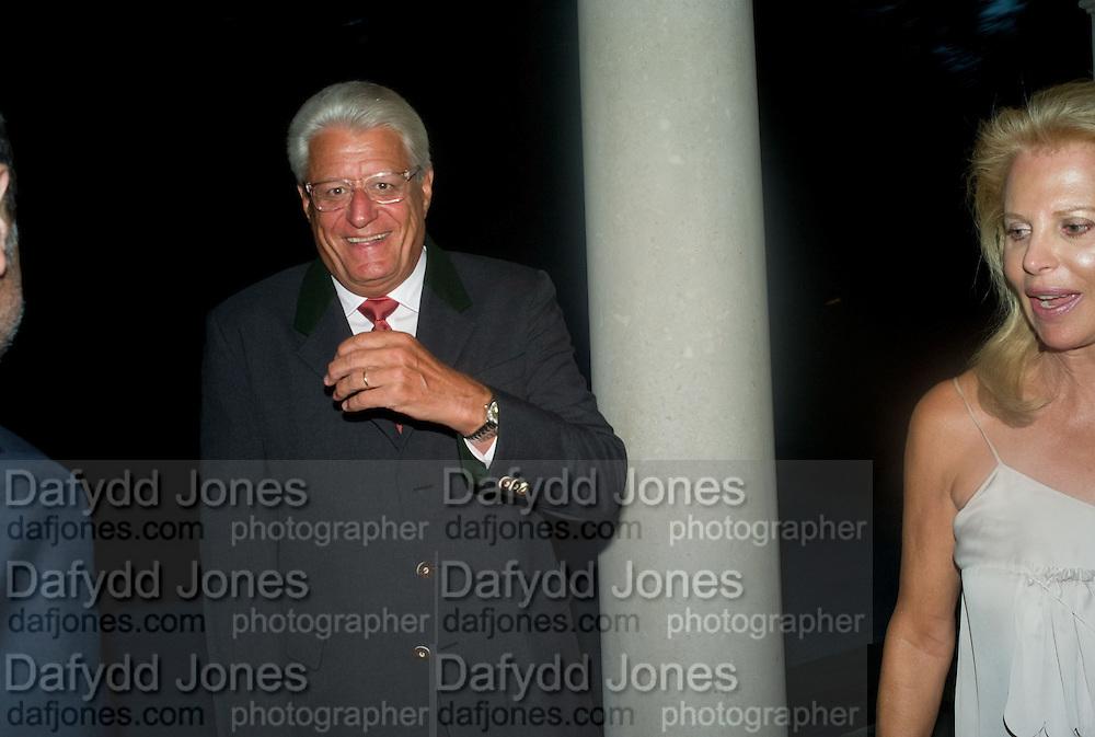 GERT RUDOLPH FLICK, Christie's Gala. Casa Austria.  Amadeus Weekend. Salzburg. 22 August 2008.  *** Local Caption *** -DO NOT ARCHIVE-© Copyright Photograph by Dafydd Jones. 248 Clapham Rd. London SW9 0PZ. Tel 0207 820 0771. www.dafjones.com.