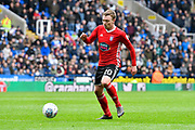Freddie Sears (20) of Ipswich Town during the EFL Sky Bet Championship match between Reading and Ipswich Town at the Madejski Stadium, Reading, England on 28 April 2018. Picture by Graham Hunt.
