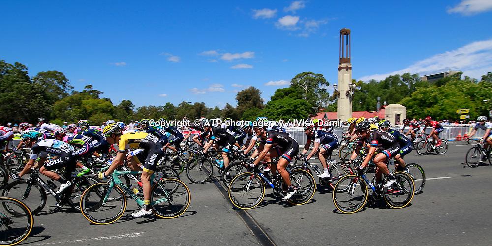 2015 Santos Tour Down Under. Adelaide. Australia.Sunday 25.1.2015.   Stage 6. Adelaide Street Circuit.90km <br /> 21, Marcel KITTEL, Team Giant Alpecin - <br /> &copy; ATP / Damir IVKA<br />  - Tour Down Under Australia 2015, Cycling, road race, Radrennen, Australien -  Radsport - Rad Rennen -<br /> - fee liable image: copyright &copy; ATP - IVKA Damir