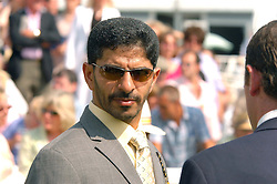 Top trainer SAEED BIN SUROOR at the 4th day of the annual Glorious Goodwood horseracing festival held at Goodwood Racecourse, West Sussex on 30th July 2004.