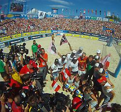 06.08.2011, Klagenfurt, Strandbad, AUT, Beachvolleyball World Tour Grand Slam 2011, im Bild , AUT , EXPA Pictures © 2011, PhotoCredit EXPA Gert Steinthaler