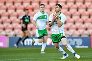 11th November 2018 , Racecourse Ground,  Wrexham, Wales ;  Rugby League World Cup Qualifier,Wales v Ireland ; Scott Grix of Ireland in action<br /> <br /> <br /> Credit:   Craig Thomas/Replay Images