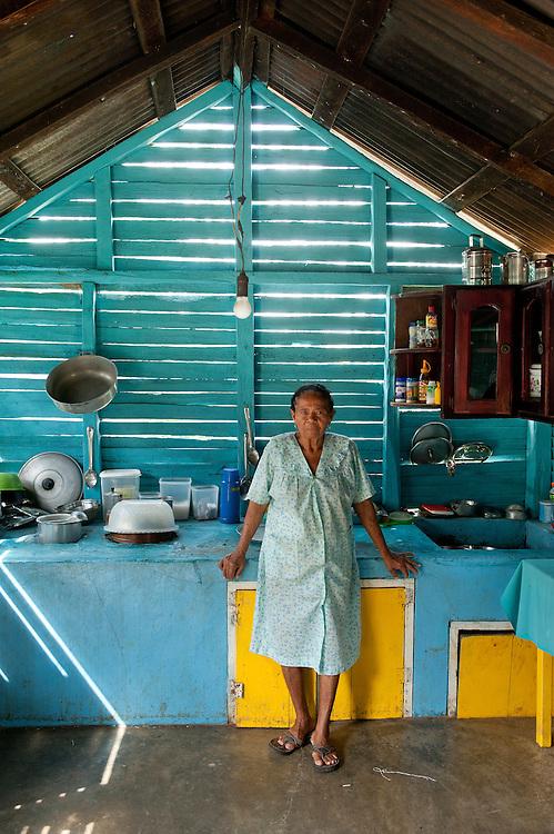 Local people in La Ceiba del Salado near,Punta Cana, Altagracia, Dominican Republic, Caribbean