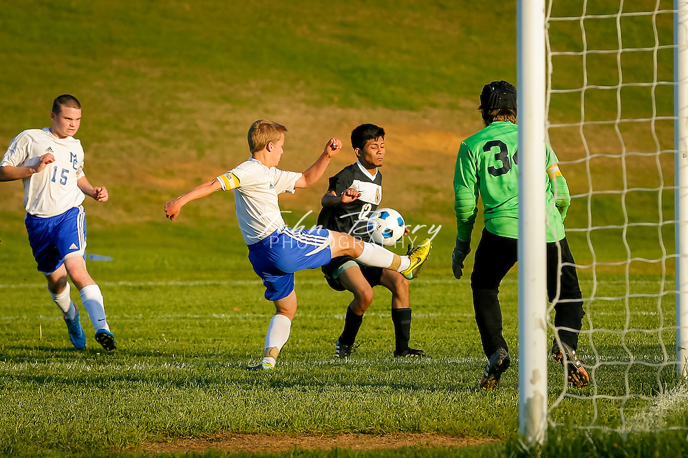 April 28, 2015.  <br /> MCHS Varsity Boys Soccer vs Manassas Park.  Game ends in 0-0 tie after two overtime periods.