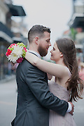 Amanda and Drew's elopement in the French Quarter.