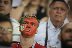 June 25, 2018 - Na - Saransk, 06/25/2018 - The national team of Portugal faced Iran today in the Group B match in the final round of the 2018 World Cup in Mordovia Arena. Adepts of Portugal. (Credit Image: © Atlantico Press via ZUMA Wire)