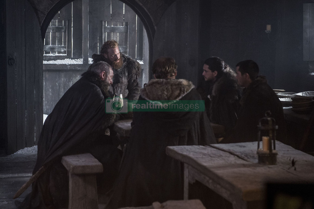 September 1, 2017 - Liam Cunningham, Kristofer Hivju, Iain Glen, Kit Harington, Joe Dempsie..'Game Of Thrones' (Season 7) TV Series - 2017 (Credit Image: © Hbo/Entertainment Pictures via ZUMA Press)
