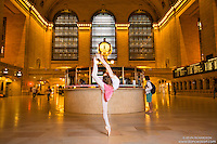Grand Central Station Ballet. Anna Mello