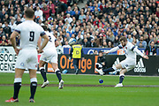 Elliot Daly (ENG) scored the penalty during the NatWest 6 Nations 2018 rugby union match between France and England on March 10, 2018 at Stade de France in Saint-Denis, France - Photo Stephane Allaman / ProSportsImages / DPPI