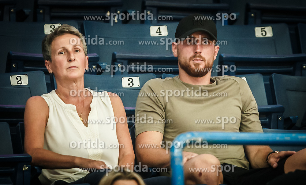 Jan Oblak, brother of Teja Oblak of Slovenia during basketball match between Women National teams of Belgium and Slovenia in the Qualification for the Quarter-Finals of Women's Eurobasket 2019, on July 2, 2019 in Belgrade Arena, Belgrade, Serbia. Photo by Vid Ponikvar / Sportida