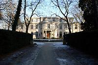 15 JAN 2002, BERLIN/GERMANY:<br /> Gedenk- und Bildungsstaette Haus der Wannsee-Konferenz, Am Grossen Wannsee 56-58, 14109 Berlin<br /> IMAGE: 20020115-01-035