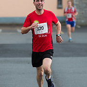 25.08. 2017.                                                      <br /> Almost 200 UL Hospitals Group staff, past and present, and members of the public completed the annual 5k Charity Run/Walk on Friday August 25th in Limerick.<br /> <br /> First male staff member home, Anthony McMahon.<br /> <br /> <br /> Everybody who participated also raised funds for Friends of Ghana, an NGO formed last year by UL Hospitals Group and its academic partner the University of Limerick to deliver medical training programmes in the remote Upper West Region of Ghana. Picture: Alan Place