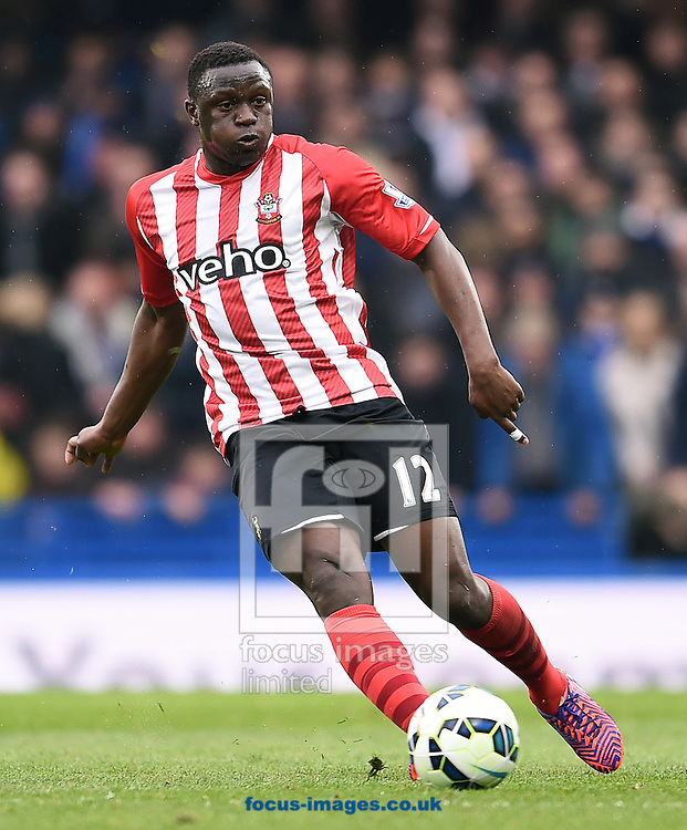 Victor Wanyama of Southampton during the Barclays Premier League match against Chelsea at Stamford Bridge, London<br /> Picture by Andrew Timms/Focus Images Ltd +44 7917 236526<br /> 15/03/2015