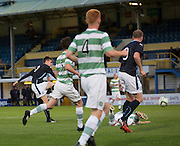 Dundee's Craig Wighton fires a shot inches wide of the goal -  Celtic v Dundee,  SPFL Development League at Cappielow<br /> <br />  - © David Young - www.davidyoungphoto.co.uk - email: davidyoungphoto@gmail.com