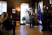 "Italian Trade Commission's ""Made in Italy on Madison"" Launch Press Conference held at 2:00 PM on Thursday, December 10, 2009 at the Offices of the Italian Trade Commission, 33 East 67th Street, New York, NY."