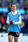 Jane Ross (#13) of Scotland after being substituted during the International Friendly match between Scotland Women and Jamaica Women at Hampden Park, Glasgow, United Kingdom on 28 May 2019.