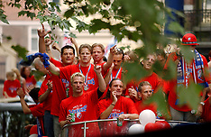 20030602 NED: Huldiging bekerwinnaar FC Utrecht, Utrecht
