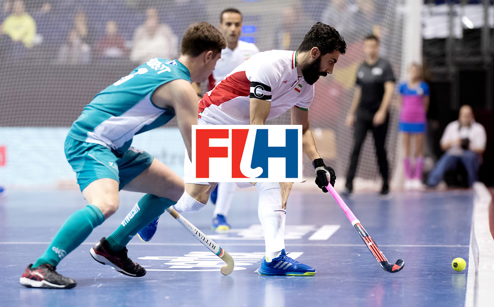BERLIN - Indoor Hockey World Cup<br /> Bronze: Iran - Australia<br /> Iran won the 3rd place.<br /> foto: BEIRANVAND Behdad.<br /> WORLDSPORTPICS COPYRIGHT FRANK UIJLENBROEK