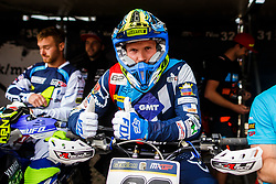 Klemen Gercar #62 of Slovenia during MXGP Trentino race two, round 5 for MXGP Championship in Pietramurata, Italy on 16th of April, 2017 in Italy. Photo by Grega Valancic / Sportida