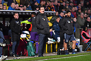 Bradford City manager Gary Bowyer during the EFL Sky Bet League 2 match between Bradford City and Exeter City at the Utilita Energy Stadium, Bradford, England on 2 November 2019.