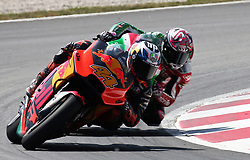 May 23, 2018 - Barcelona, Spain - Pol Espargaro (KTM)  during the Moto GP test in the Barcelona Catalunya Circuit, on 23th May 2018 in Barcelona, Spain. (Credit Image: © Joan Valls/NurPhoto via ZUMA Press)