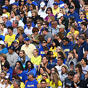 Delaware fans pack Raymond Field of a Week 6 NCAA football game against Maine University.