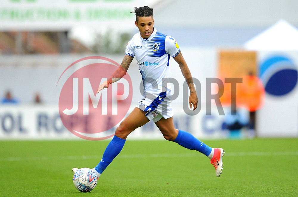 Daniel Leadbitter of Bristol Rovers in action- Mandatory by-line: Nizaam Jones/JMP - 06/10/2018 - FOOTBALL - Memorial Stadium - Bristol, England - Bristol Rovers v Walsall - Sky Bet League One