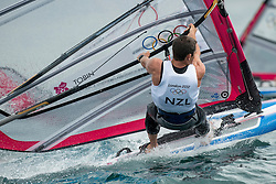2012 Olympic Games London / Weymouth<br /> RSX man racing day 1 <br /> RS:X MenNZLTobin Jon-Paul