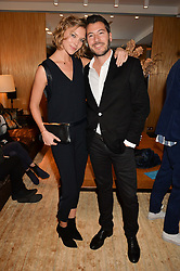 ARIZONA MUSE and BONIFACE VERNEY-CARRON at the Louis Vuitton for Unicef Event #MAKEAPROMISE held at The Apartment, 17-20 New Bond Street, London on 14th January 2016.