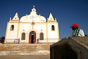 Vila do Maio (Maio's Village) church. Most of Cape Verdeans are catholics.