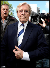 MAY 14 2013 Coronation street star William Roache in Court