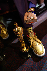 Spike Lee poses with the Oscar® for adapted screenplay during the live ABC Telecast of The 91st Oscars® at the Dolby® Theatre in Hollywood, CA on Sunday, February 24, 2019.