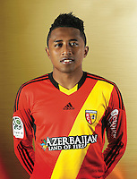 Lalaina NOMENJANAHARY - 11.12.2013 - Photo officielle Lens - Ligue 2<br /> Photo : Rclens.fr / Icon Sport