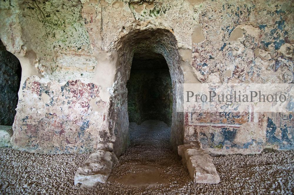 Uggiano La Chiesa - Salento - Chiesa rupestre di Sant'Angelo
