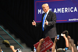 November 3, 2016 - Concord, USA - Donald Trump presidential campaign, Concord, North Carolina, USA, 2016-11-03..(c) ANDERSSON URBAN  / Aftonbladet / IBL Bildbyr√•....* * * EXPRESSEN OUT * * *....AFTONBLADET / 4216 (Credit Image: © Aftonbladet/IBL via ZUMA Wire)