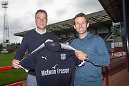 Graham Gartland - new Dundee assistant manager 16-06-2017